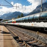 Sul Gottardo con treno panoramico
